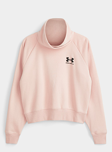 Le sweat court col cygne montant