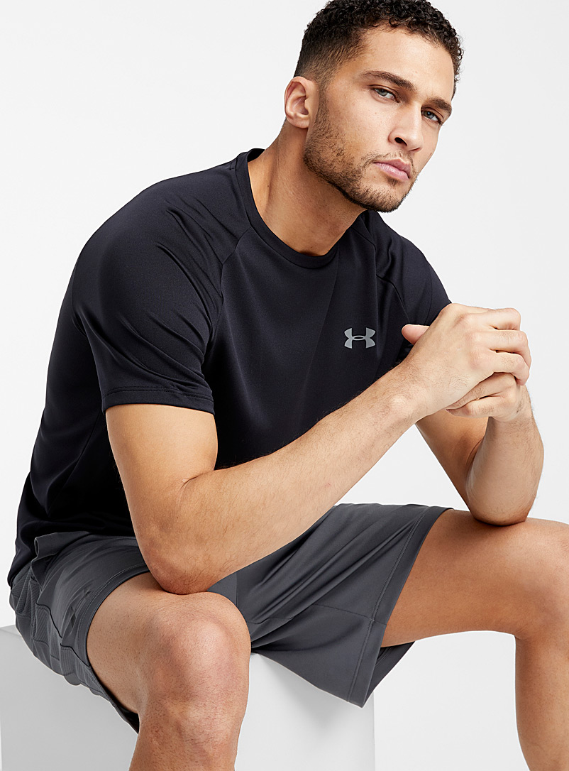 Under Armour Black Tech 2.0 workout tee for men