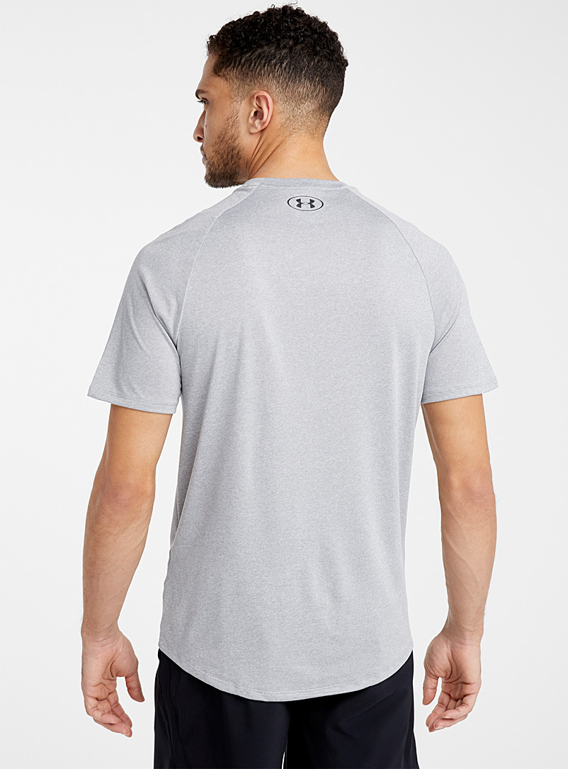 Under Armour Grey Tech 2.0 workout tee for men