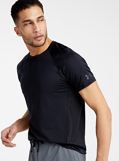 Under Armour Black MK-1 workout tee for men