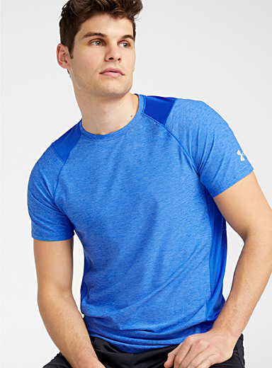 Under Armour Sapphire Blue MK-1 workout tee for men