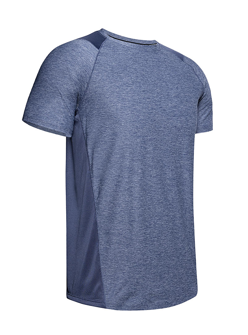 Under Armour Slate Blue MK-1 workout tee for men