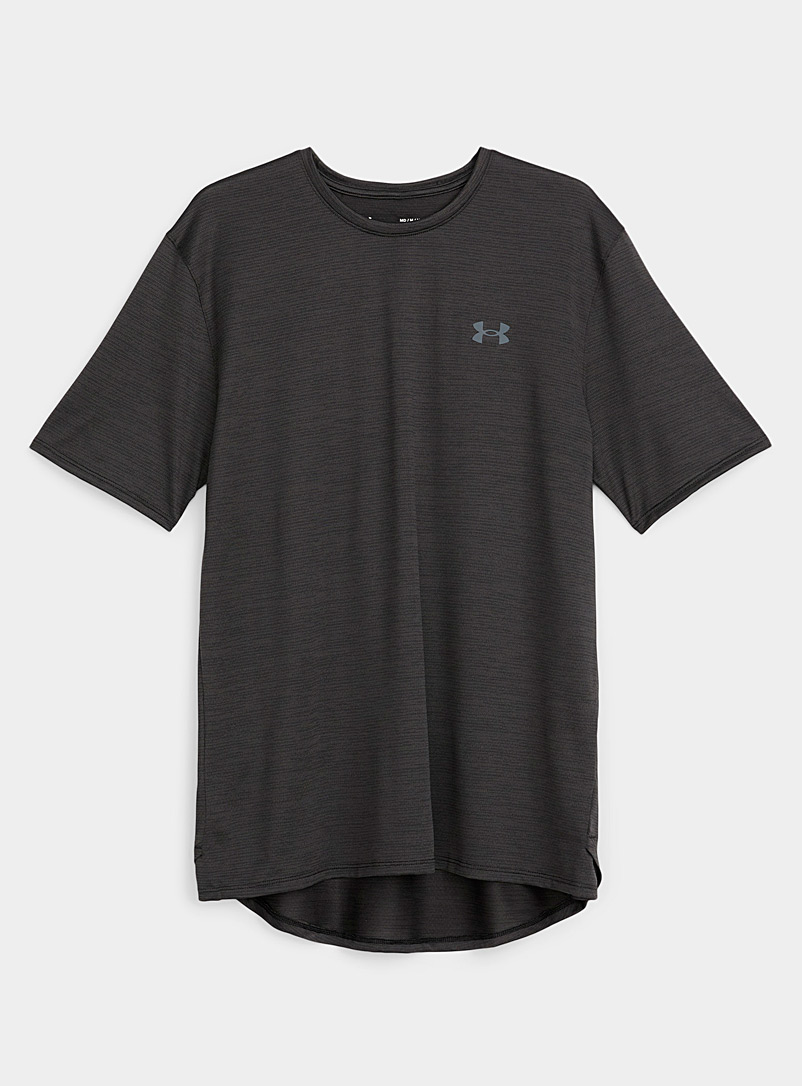 Under Armour Black Training Vent breathable tee for men
