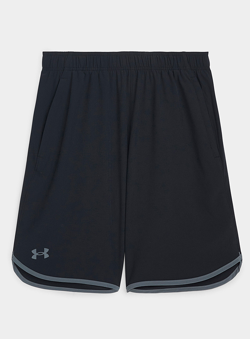 Under Armour Black HIIT stretch weave short for men