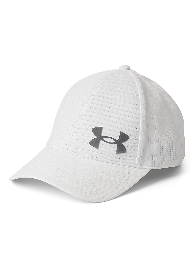 Under Armour White Iso-Chill ArmourVent stretch cap for men
