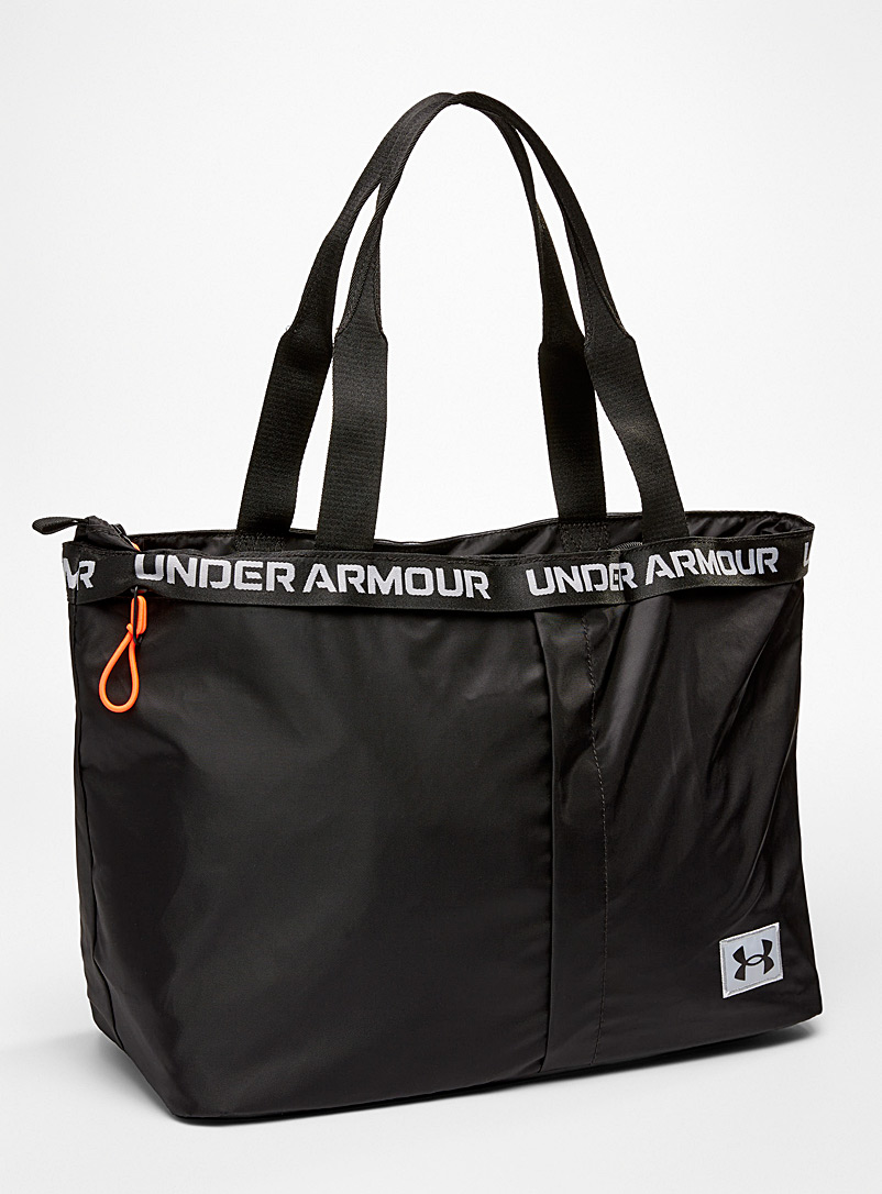 Under Armour Black Water-repellent finish essential sports tote for women