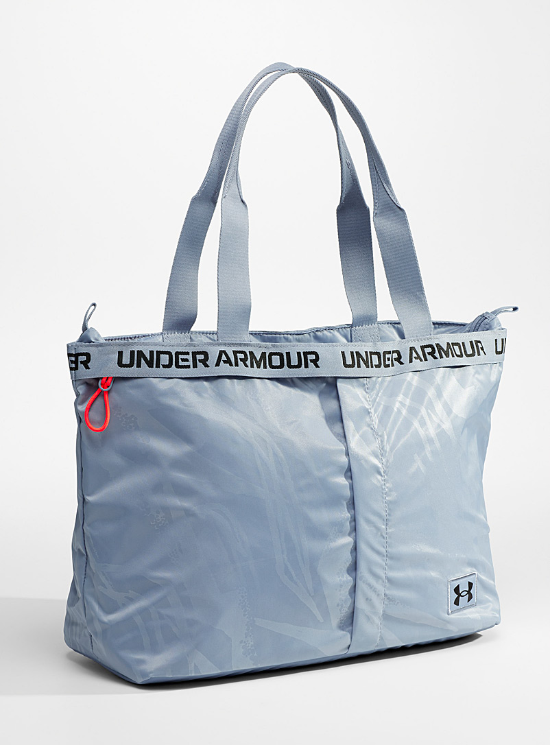 Under Armour Slate Blue Water-repellent finish essential sports tote for women