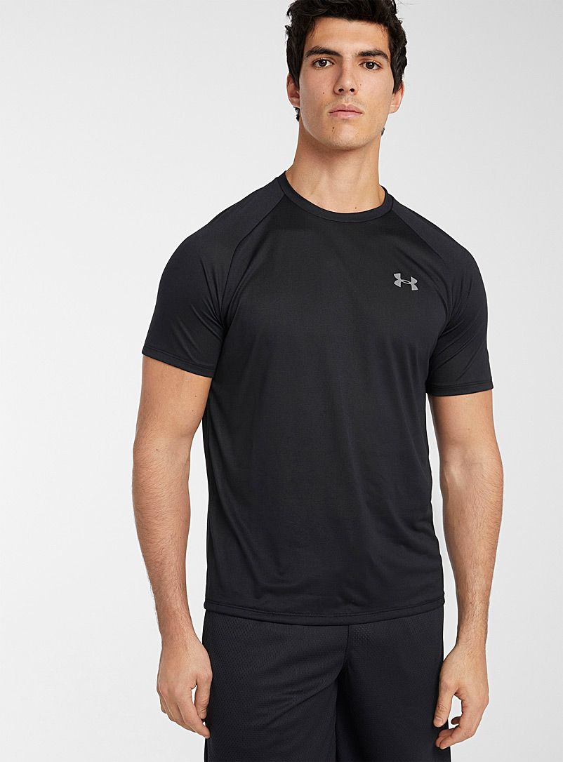 Under Armour Black Tech 2.0 cool jersey T-shirt for men