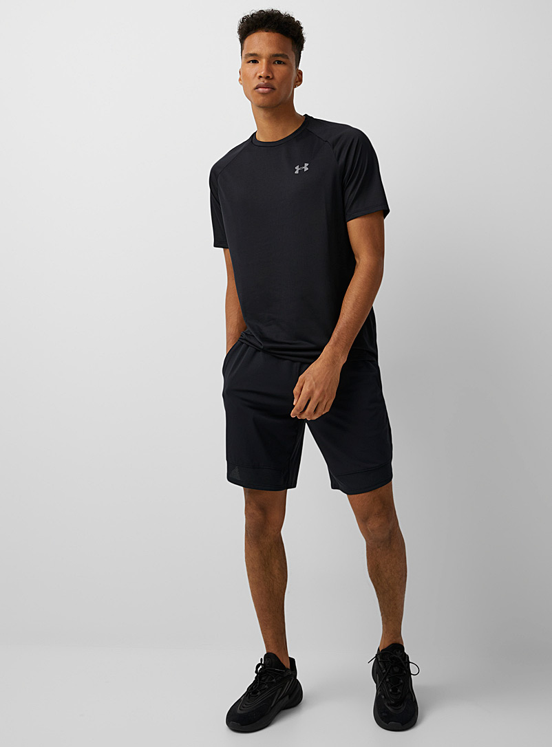 Under Armour Black Mesh insert stretch short for men