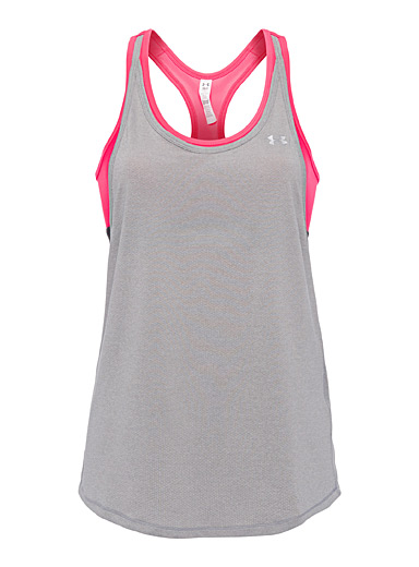 Micro-perforated faux-layered tank
