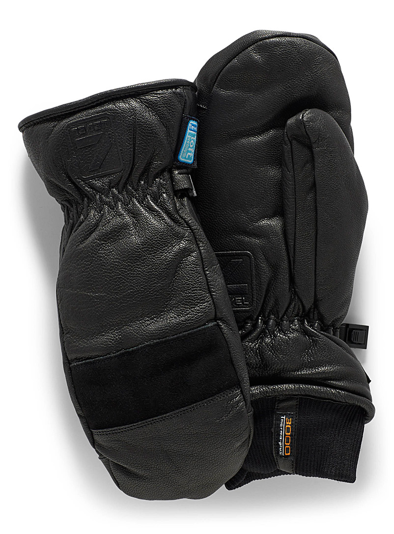 Empire leather mittens - Gloves & mittens - Black