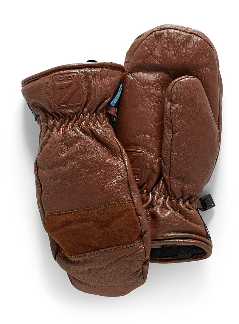 Empire leather mittens - Gloves & mittens - Light Brown
