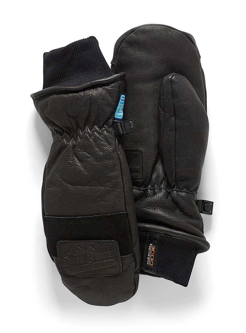 Empire leather gloves