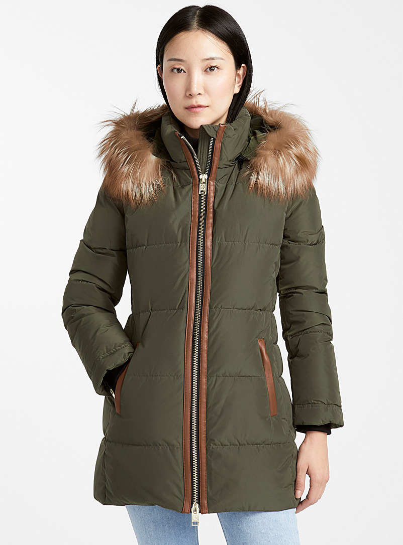 leather-trim-slim-fit-puffer-jacket