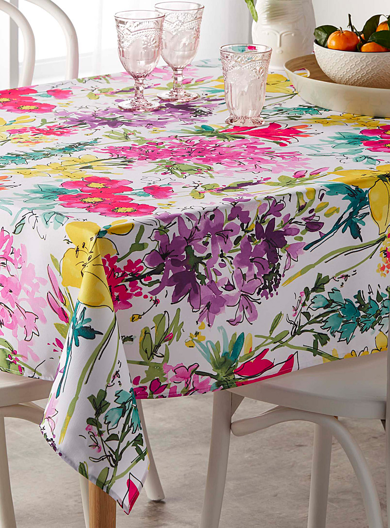 Wild garden tablecloth - Printed - Assorted