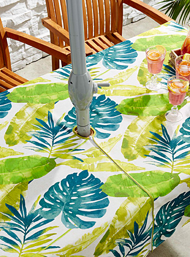 Tropical taste tablecloth