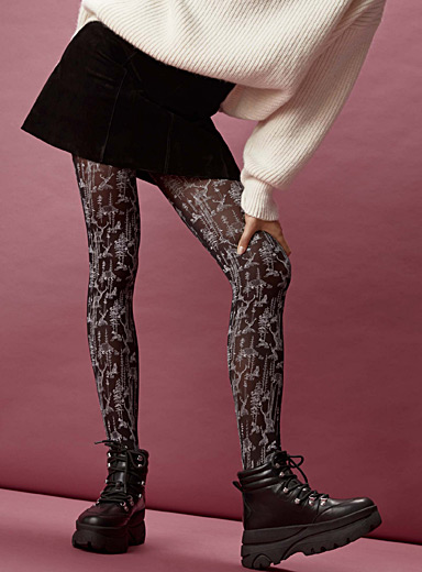 Enchanted forest tights