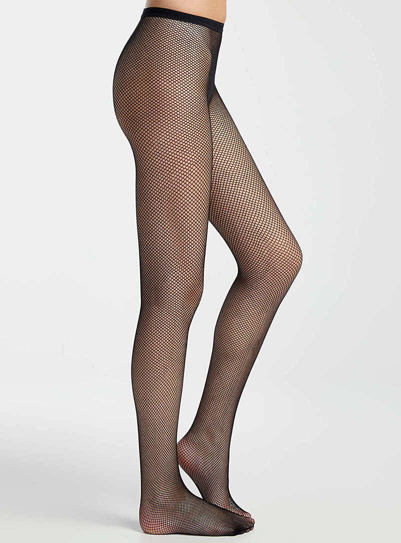 Essential fishnet tights - Patterned Tights - Black