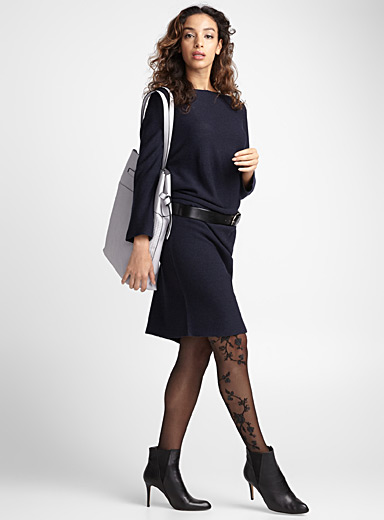 Floral branches pantyhose