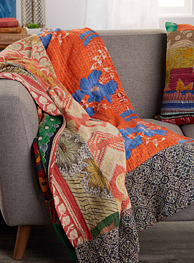 Patchwork throw  60&quote; x 90&quote;