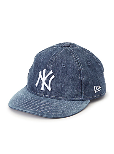 New York Yankees denim cap
