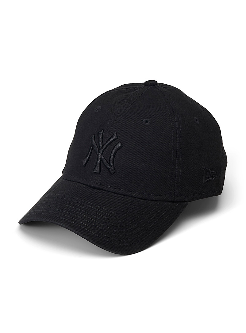 New Era Patterned Black NY 9Twenty baseball cap for women