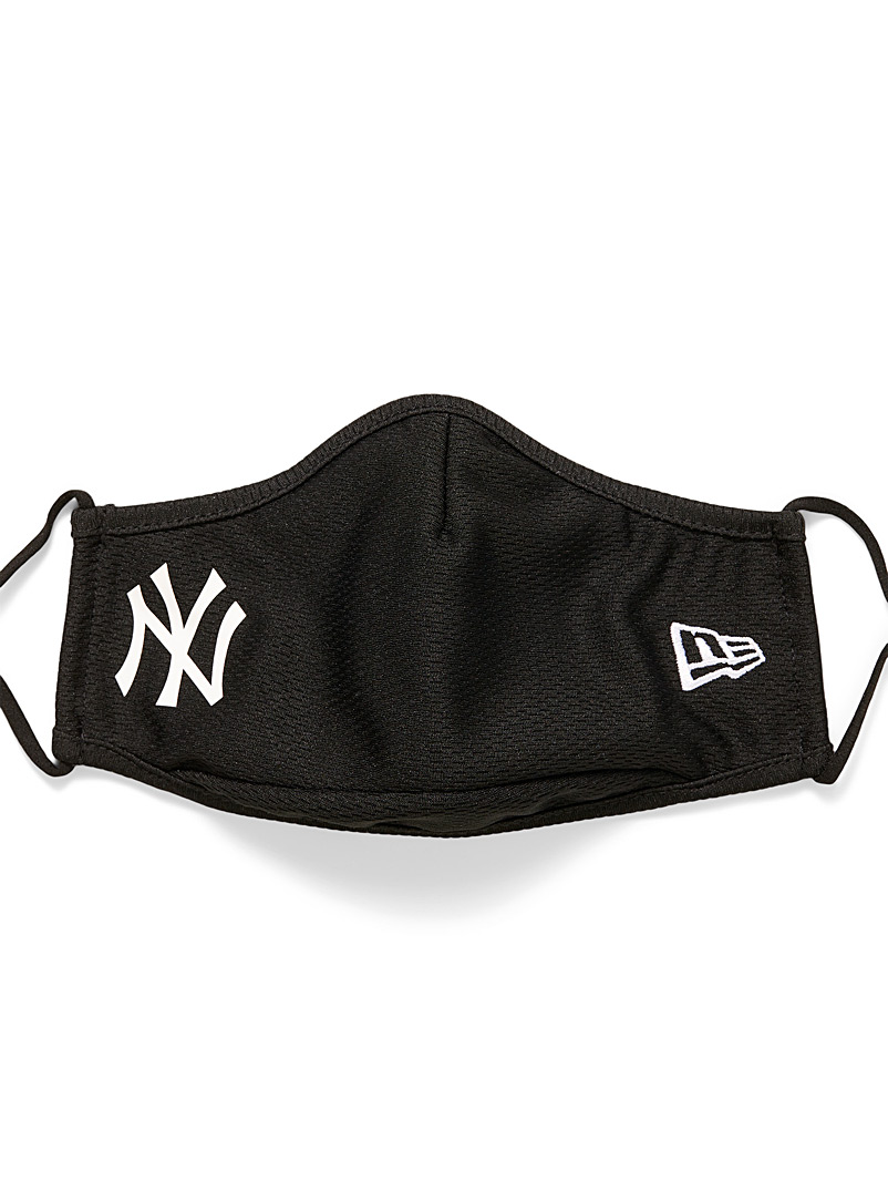 New Era: Le masque Yankees de New York Noir pour homme