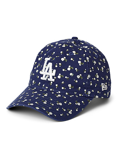 Los Angeles Dodgers floral cap