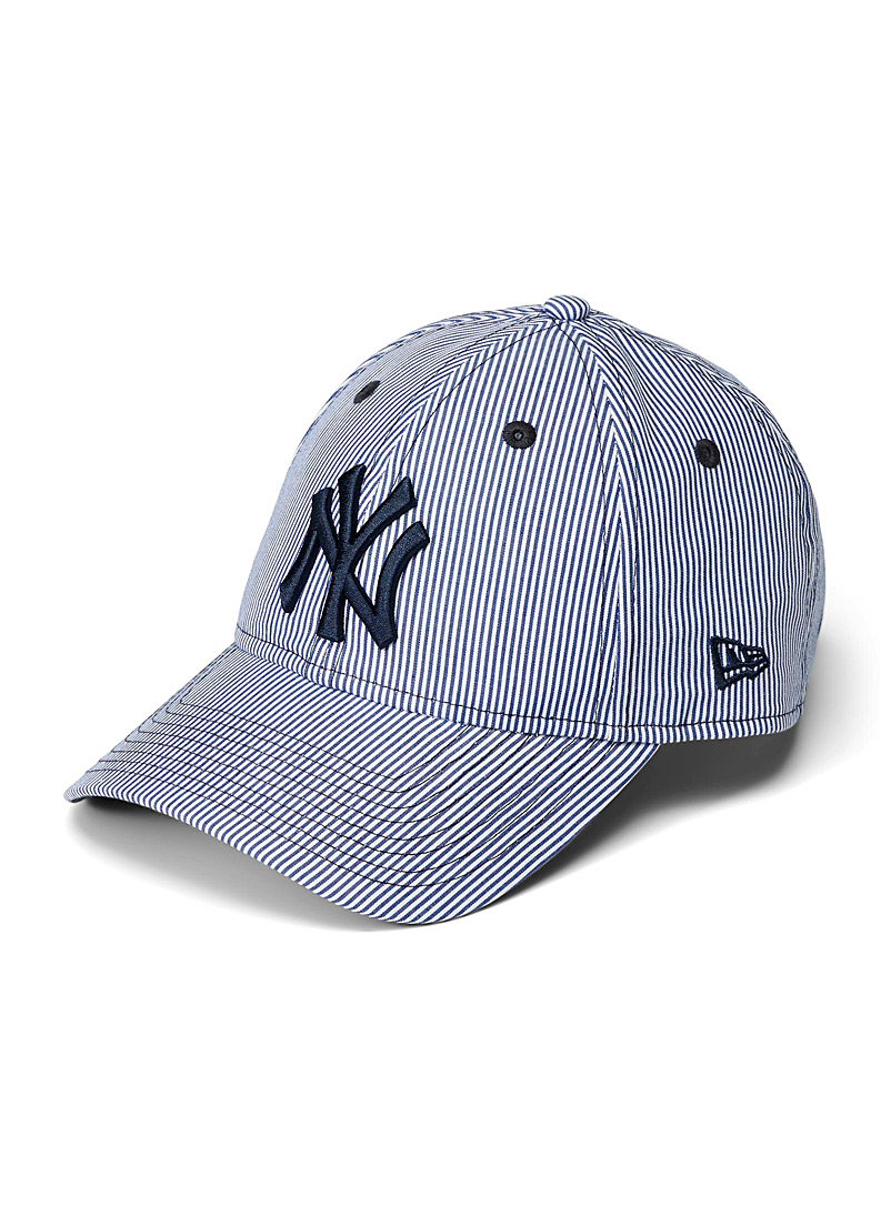 New Era Patterned Blue Striped New York Yankees cap for women