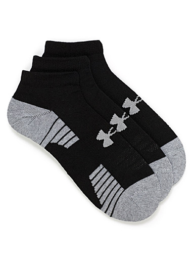 UA HeatGear training ped socks