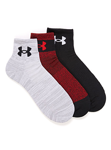 Graphic logo training sock 3-pack