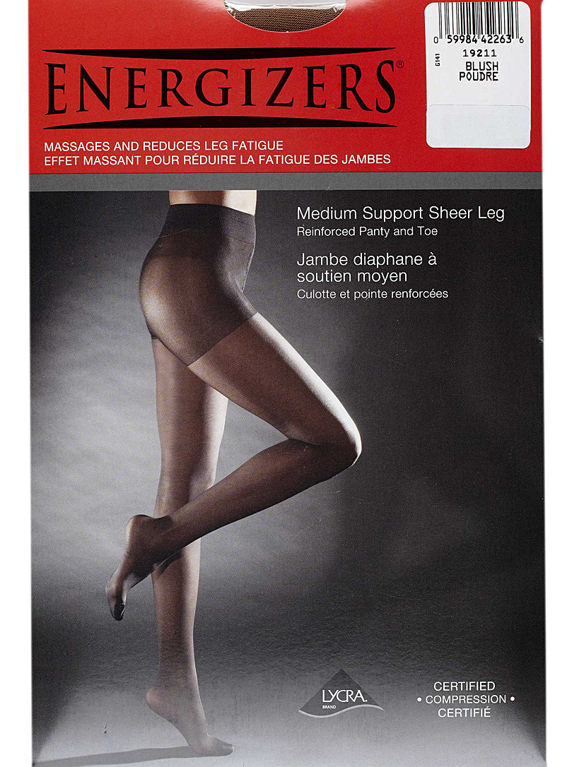 Energizers Natural Sheer support pantyhose for women