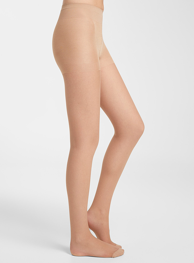 Sheer support pantyhose - Control Top - Natural