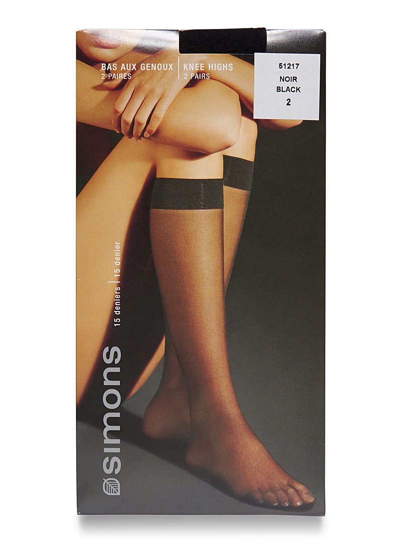 Simons Lead Executive knee-highs  Set of 2 for women