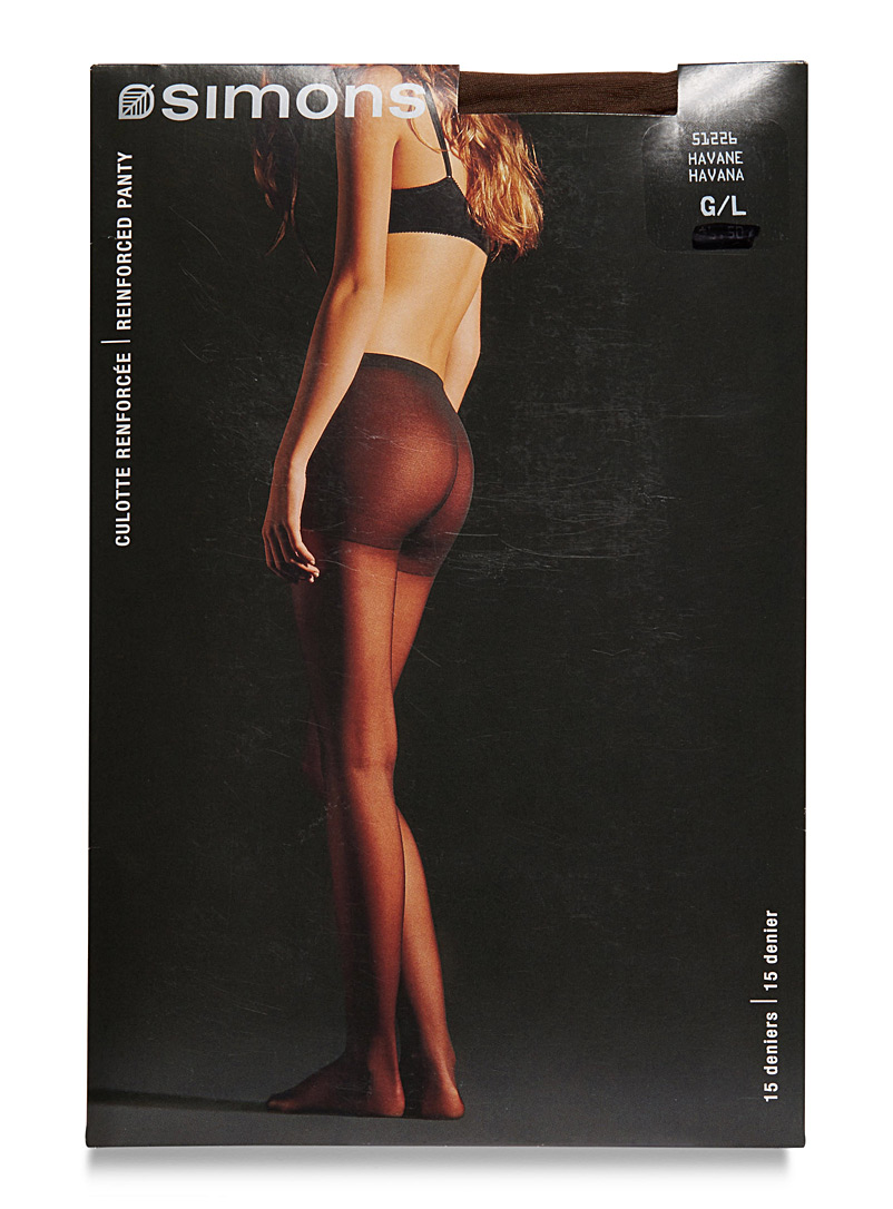 9 to 5 executive pantyhose - Regular Nylons - Havana