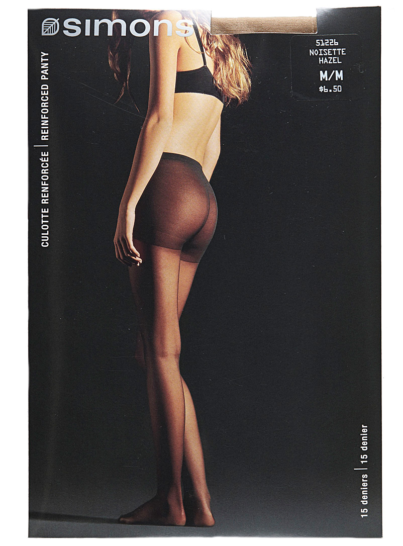 9 to 5 executive pantyhose - Regular Nylons - Hazelnut