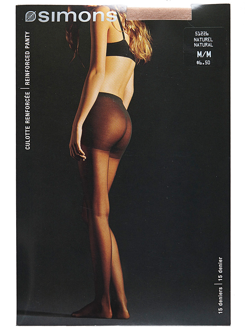 9 to 5 executive pantyhose - Regular Nylons - Natural