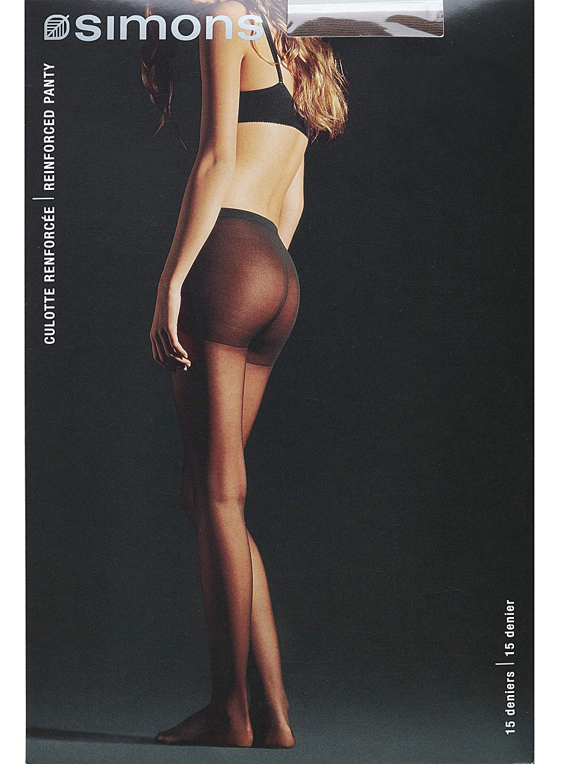 9 to 5 executive pantyhose - Regular Nylons - Moka