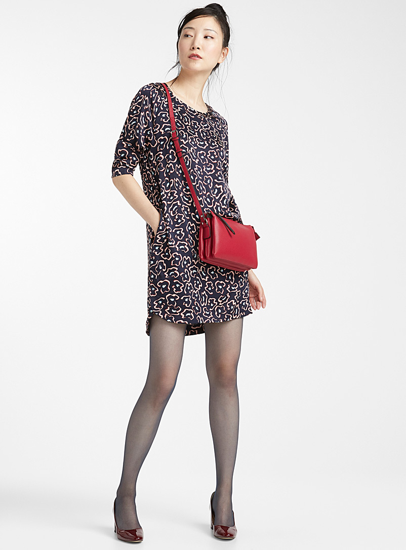 9 to 5 executive pantyhose - Regular Nylons - Midnight
