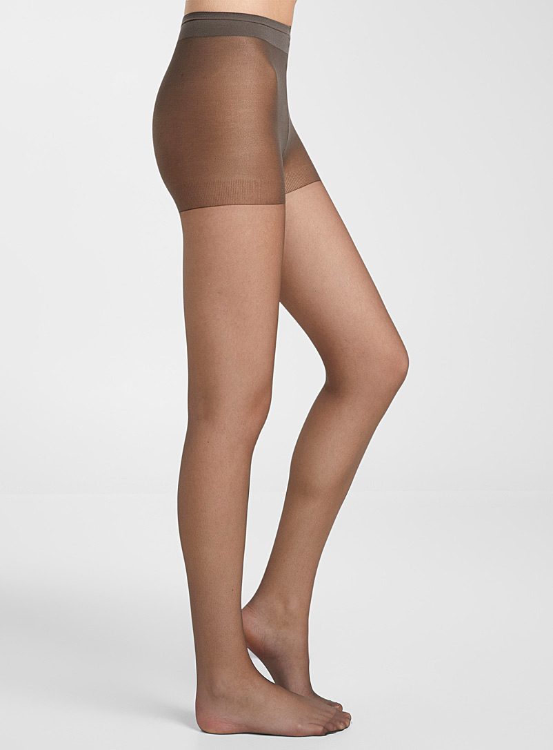 9-to-5 executive pantyhose - Regular Nylons - Ash