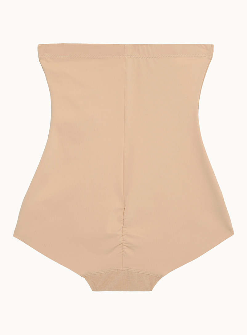 High-waist control panty - Shapewear - Tan