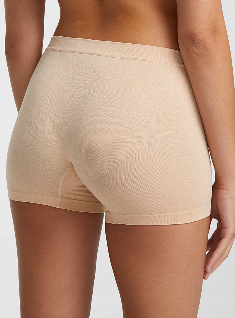 Seamless hipster - Boyshorts - Tan