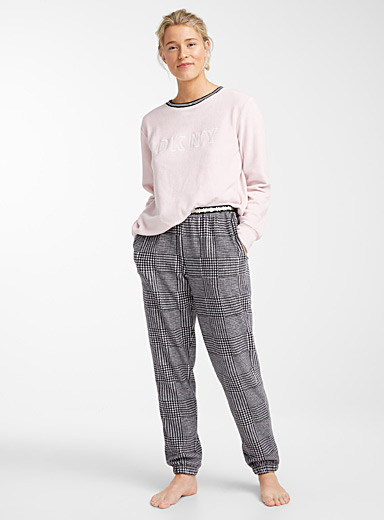 Soft cotton fleece pyjama set