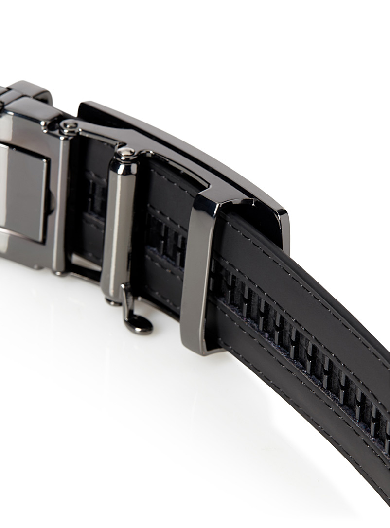 Le 31 Fawn Two-metal automatic belt for men