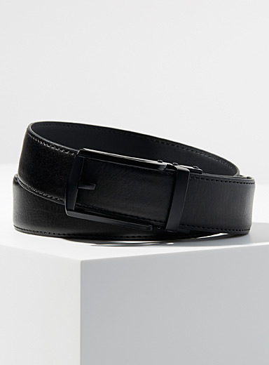 Openwork buckle automatic belt