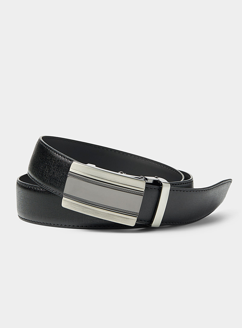 two-tone-buckle-belt