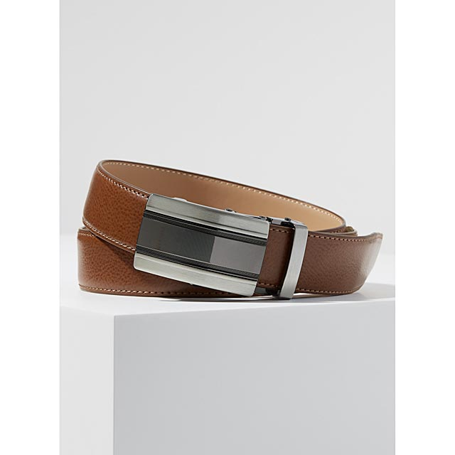 automatic-two-tone-buckle-belt