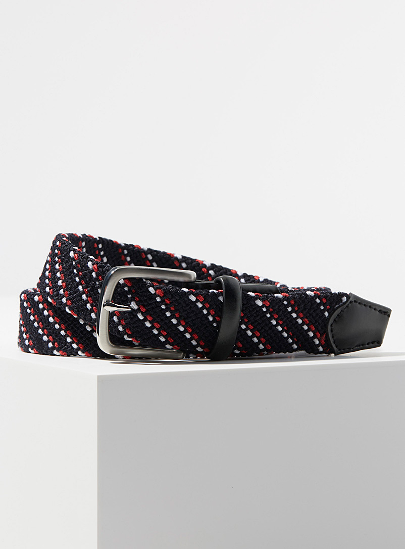 Stretchy woven belt - Casual
