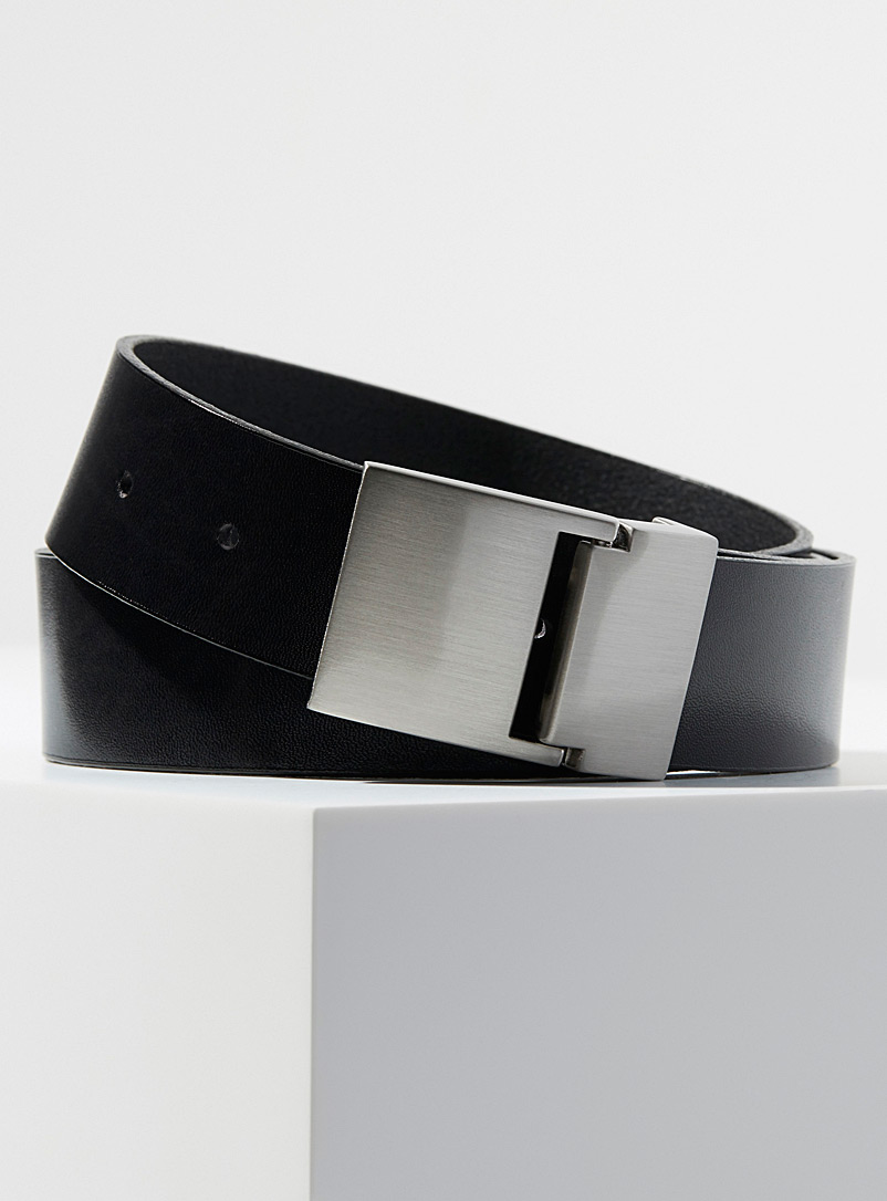 brushed-steel-buckle-belt