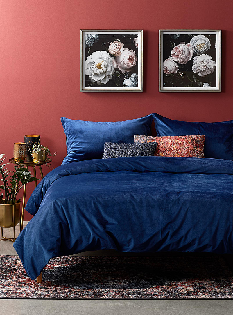Pure velvet duvet cover set